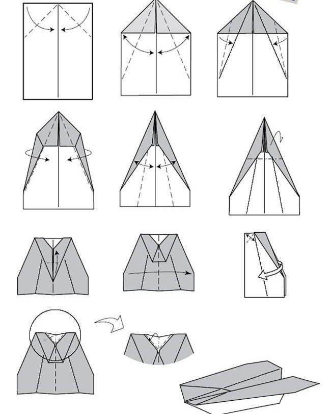 Новость Как сделать бумажный самолетик? была добавлена в. Понра