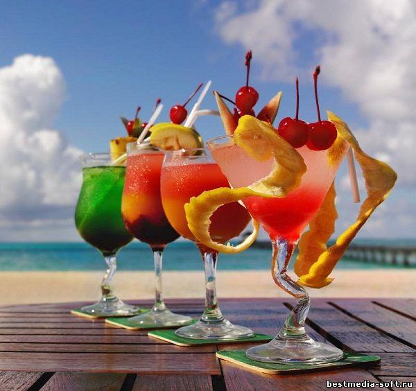 Поздравление с напитком