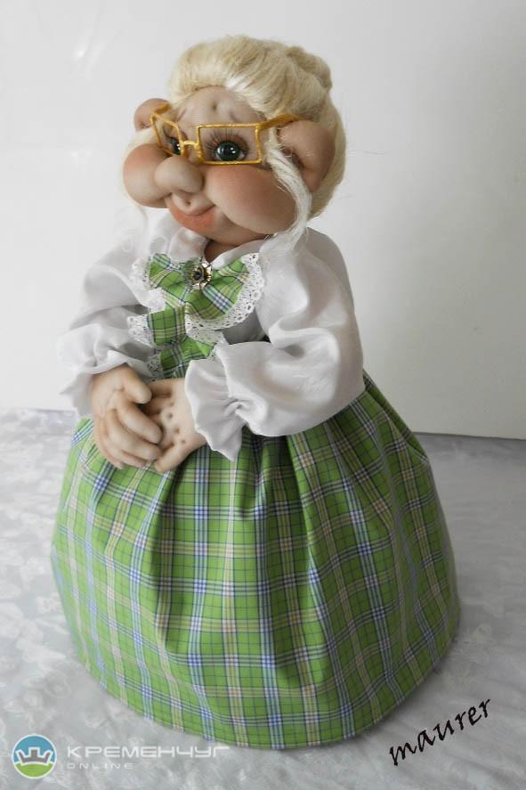 Как сделать куклу своими руками на чайник