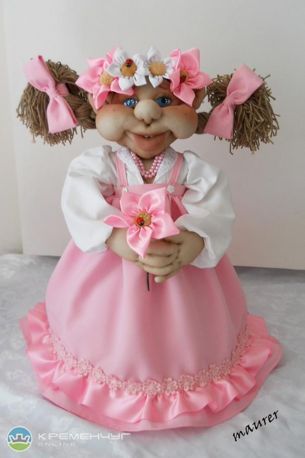Кукла на чайник мастер класс из капрона