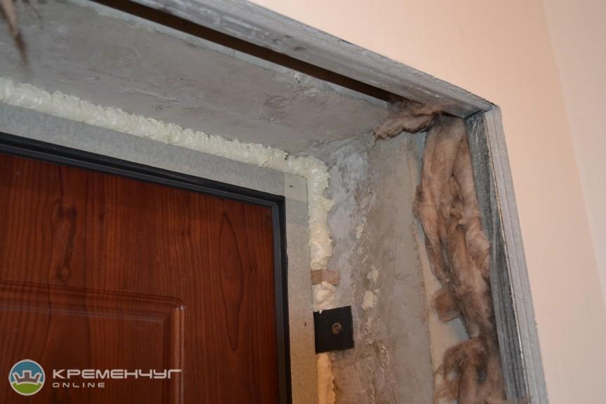 Оформление входных дверей фото