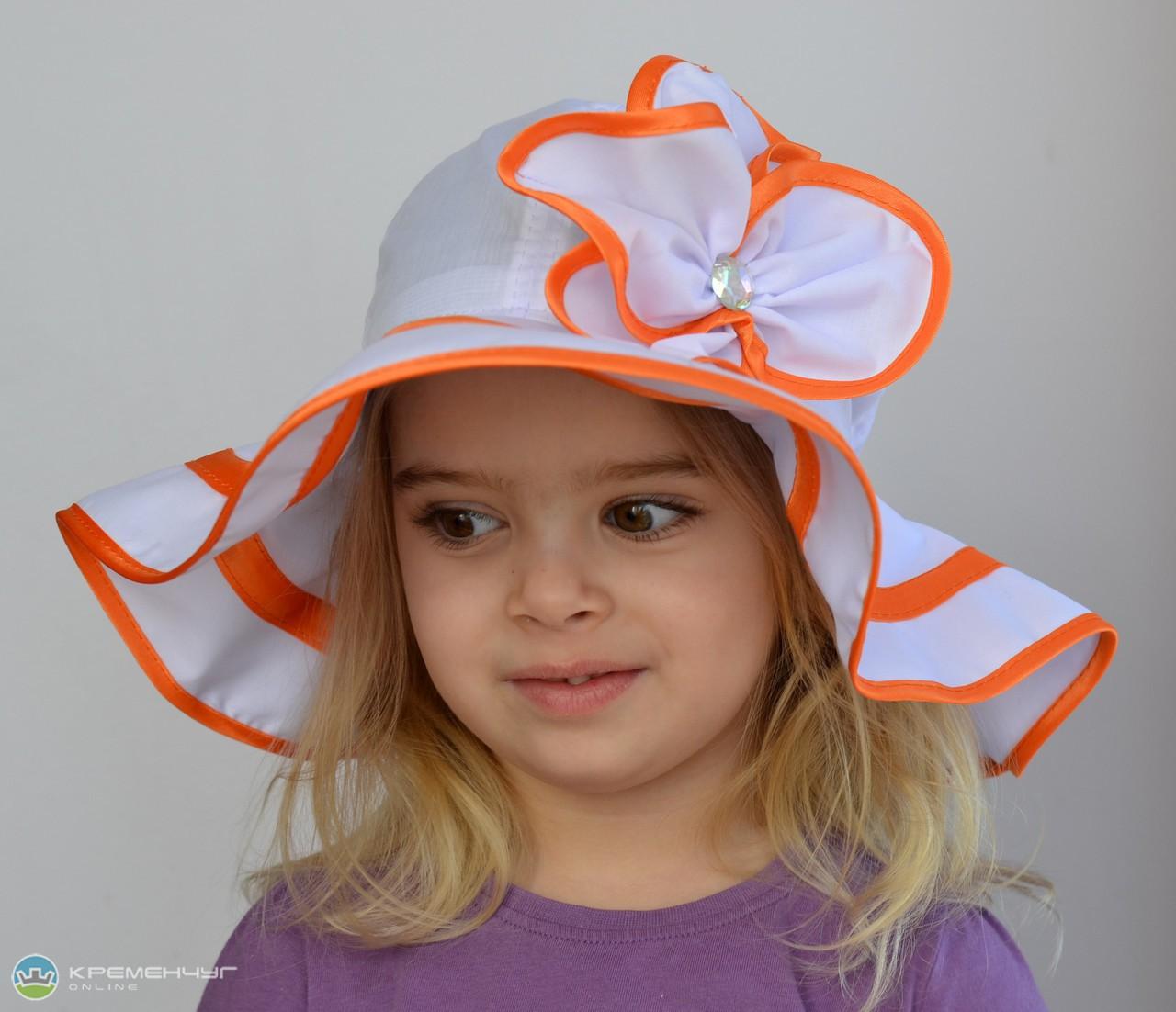 Детские летние шапочки для девочек сшить