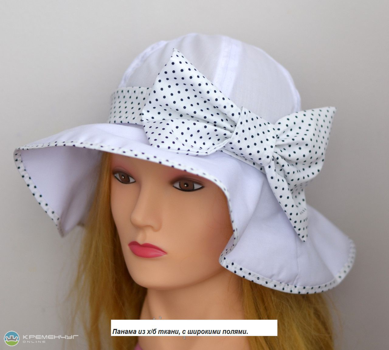 Шляпа на лето своими руками из ткани
