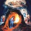Он родился в пещере и был положен в ясли, куда кладут корм для животных