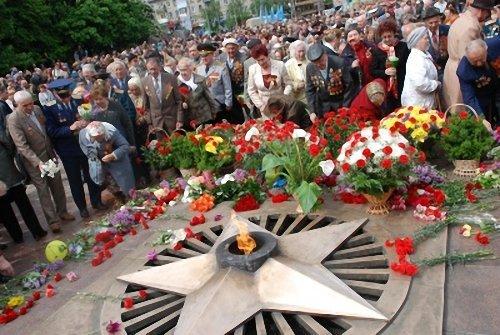Обращение оргкомитета по празднованию 65-й годовщины Победы в Великой Отечественной войне 1941-1945 г.г. в Кременчуге.