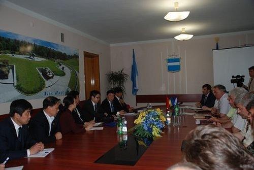 Целью визита китайской делегации в Кременчуг стало знакомство с