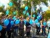 В давке за бело-голубыми зонтиками в Кременчуге чуть не затоптали девушку