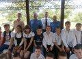 Кременчугские транспортные милиционеры поздравили воспитанников подшефного заведения с праздником