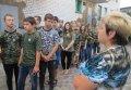 Кременчугскую воспитательную колонию с экскурсией посетили школьники