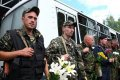 Воинская часть 3059 встретила коллег, которые вернулись с востока Украины (фото)