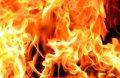 В Кременчугском районе сгорел нежилой дом