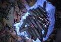 На Полтавщине работники ГАИ задержали «Ниву» с арсеналом оружия (фото)