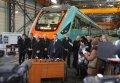 Айварас Абромавичус посетил Крюковский вагоностроительный завод. Фото пресс-службы ПАО «КВСЗ»