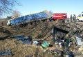Страшное ДТП на Полтавщине: 8 человек погибли, 8 травмированы (обновлено, фото)