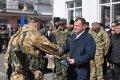 В зону АТО отправился сводный отряд милиционеров Полтавской области