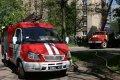 В Кременчуге горела квартира и легковой автомобиль