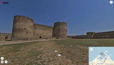 На Яндекс.Картах появились панорамы морских курортов Украины и Аккерманской крепости