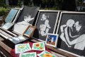 Работы воспитанников Кременчугской воспитательной колонии представили на аукционе произведений искусства