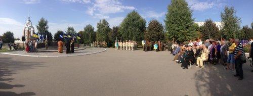 Митинг-панихида по случаю 72-й годовщины освобождения города и 444-й годовщины со дня основания Кременчуга