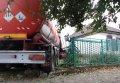 В Кременчуге бензовоз въехал в частный дом (фото)