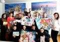 Воспитанники Кременчугской воспитательной колонии поздравили своих наставников с Новогодними и Рождественскими праздниками