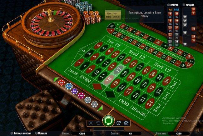 как можно выиграть в онлайн казино на рулетке