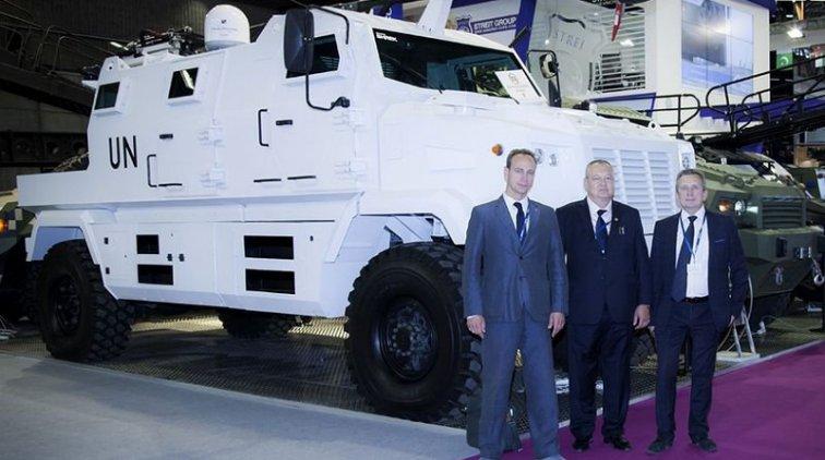KrAZ-MPV Shrek One. Фото пресс-службы ПАО «АвтоКрАЗ»