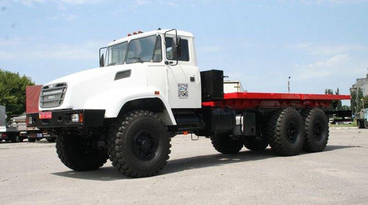 Полноприводный бортовой автомобиль КрАЗ-6322. Фото пресс-службы ПАО «АвтоКрАЗ»