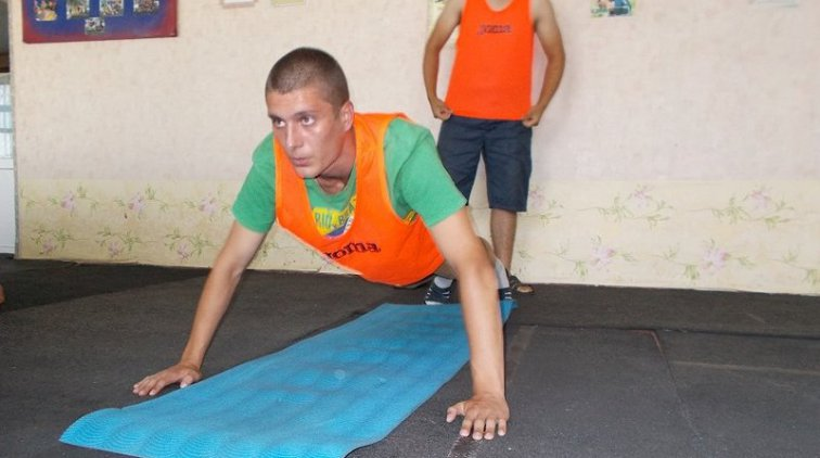 В Кременчугской воспитательной колонии определили лучших спортсменов II этапа летней Спартакиады