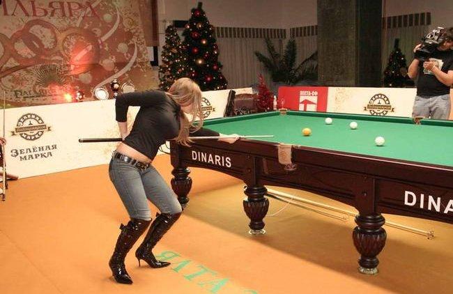 Анастасия Ковальчук. Фото: billiard-pyramid.com