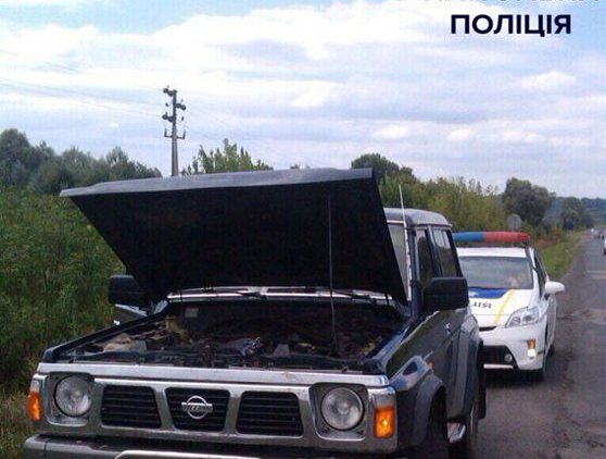 Фото Управлении патрульной полиции в городе Полтаве