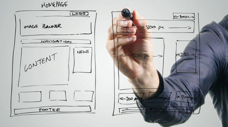 Структура веб-сайту, розробка та програмування