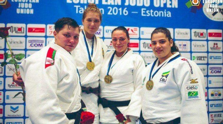 Елизавета Каланина стала золотой призёркой на этапе Кубка мира по дзюдо