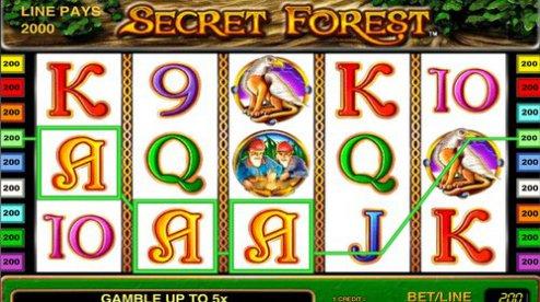 Secret Forest играть вулкан