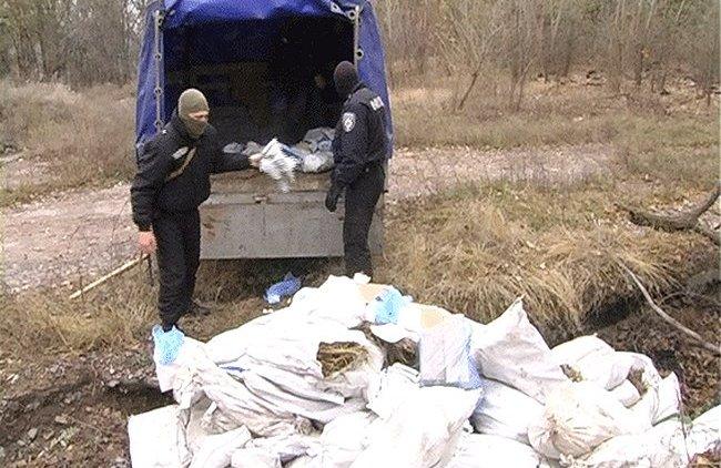Полицейские уничтожили наркотики почти на 2 миллиона гривен