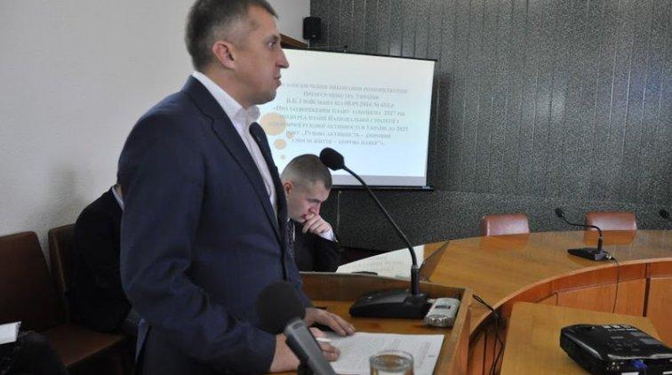 Александр Буцкий. Фото пресс-службы Полтавской ОГА