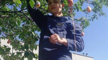 В Кременчугской воспитательной колонии выросло Пасхальное дерево