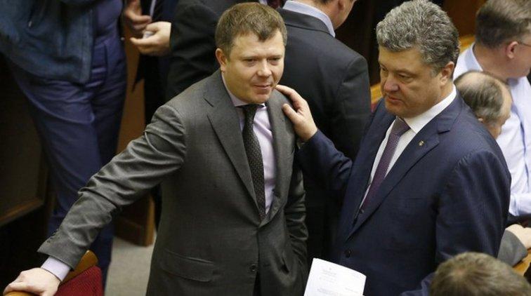 Константин Жеваго и Пётр Порошенко. Фото: epravda.com.ua