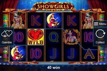 Игровой аппарат Showgirls без регистрации
