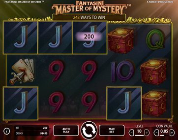 Слот Fantasini: Master of Mystery