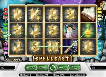 Игровой аппарат Spellcast