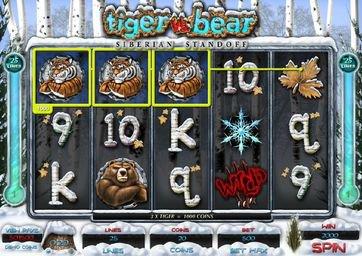 Симулятор Tiger vs Bear