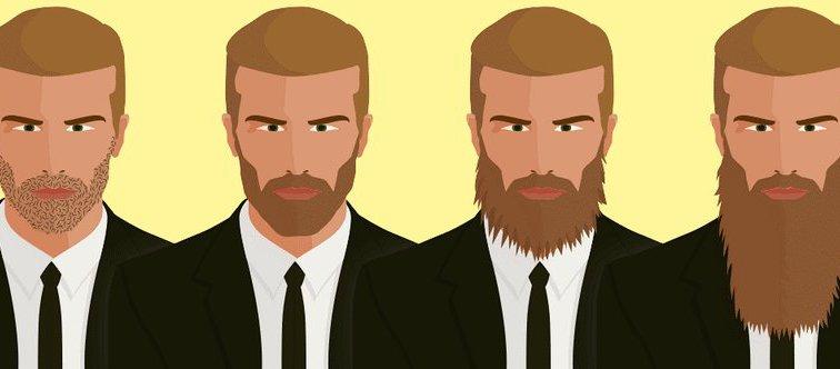 4 шага к отращиванию бороды
