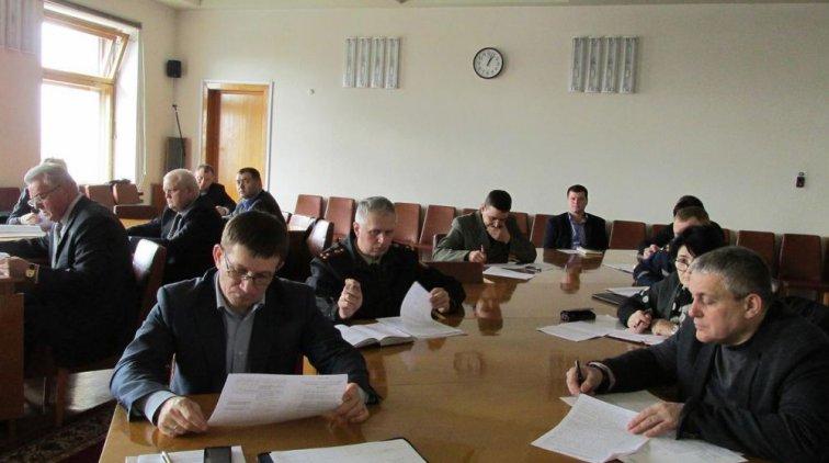 Заседание Государственной чрезвычайной противоэпизотической комиссии. Фото пресс-службы Полтавской ОГА