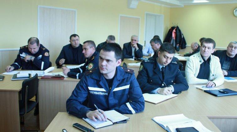 Заседание Государственной комиссии по вопросам ТЭБ и ЧС. Фото пресс-службы Полтавской ОГА