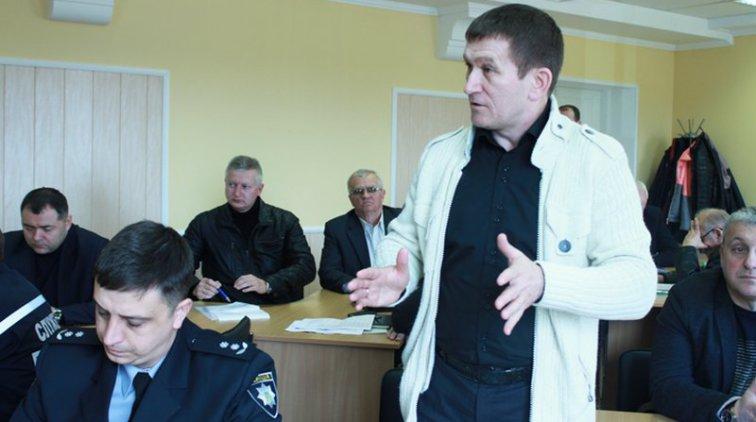 Сергей Фролов предложил повысить уровень ответственность за пожары. Фото пресс-службы Полтавской ОГА