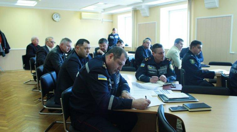 Участники видеоконференции в Полтавской области. Фото пресс-службы Полтавской ОГА