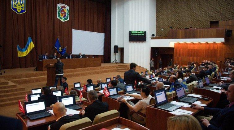 Заседание депутатов Полтавского облсовета