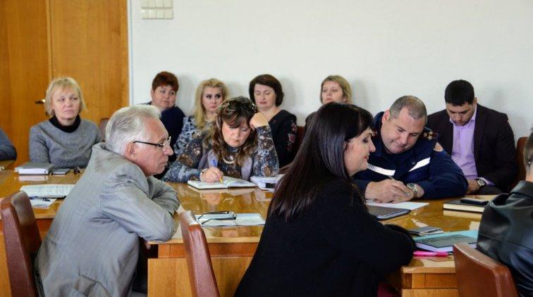 На заседании. Фото пресс-службы Полтавской ОГА
