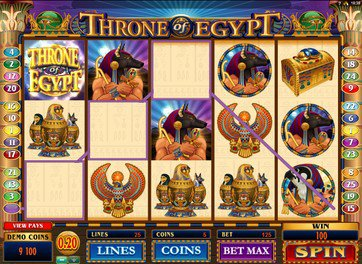Throne Of Egypt играть вулкан